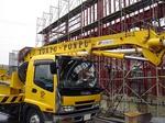 大型店舗新築工事 配管コンクリート打設:拡大画像1