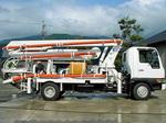 石川島建機製 ピストンコンクリートポンプ車・中古車 IPJ70B-4N18